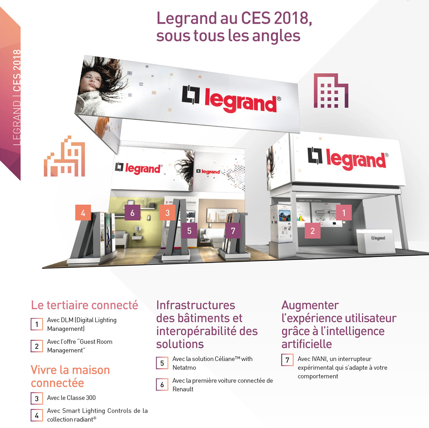 Stand Legrand CES2018