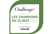 "Legrand rated a ""climate champion"" in the ""Challenges"" magazine ranking"