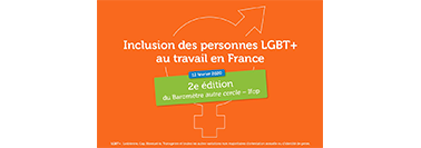 Legrand, signatory of the autre cercle Charter, present at the second edition of the autre cercle – Ifop Barometer on the inclusion of LGBT+ people at work.