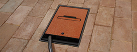 Ground box outdoor