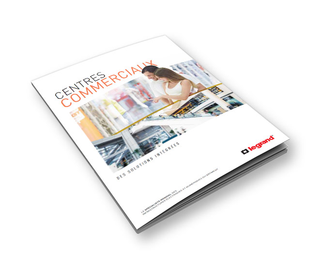 Shopping centers and shops booklet