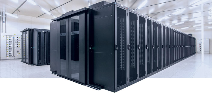 LCS3 data center enclosure & aisle containment